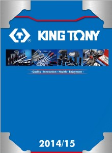 okładka katalog king tony